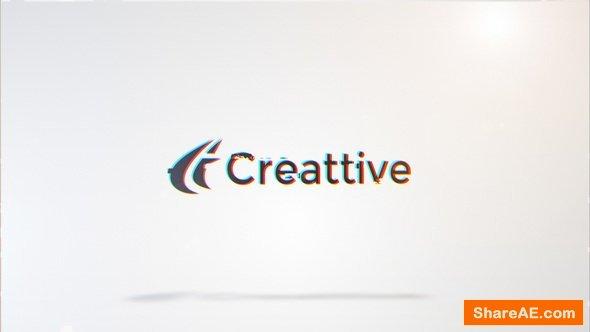 Videohive Clean Glitch Logo 11449838