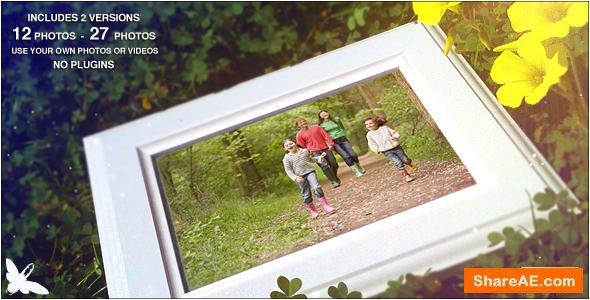 Videohive Spring Family Slideshow