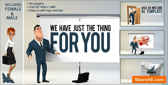 Videohive Corporate Presentation 3D