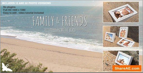 Videohive Beach Photo Slide