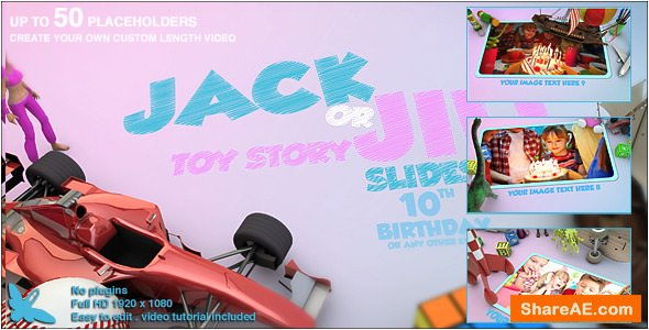 Videohive Toy Story Slideshow