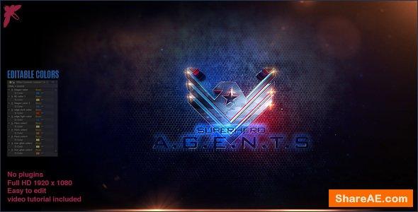 Videohive Superhero Agents Logo