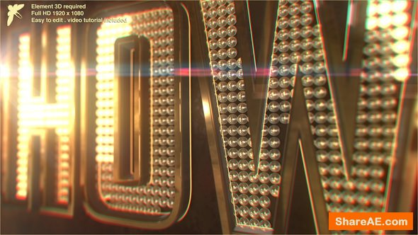 Videohive Showbiz Logo