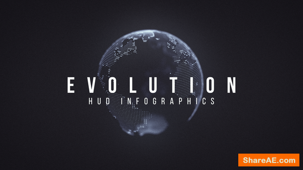 Videohive Evolution HUD Infographic