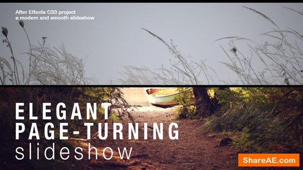 Videohive Elegant Page - Turning Slideshow