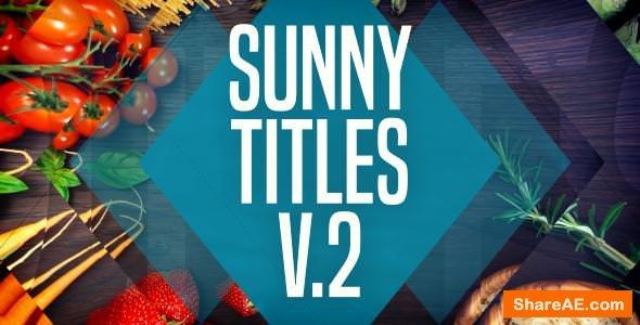 Videohive Sunny Titles v.2