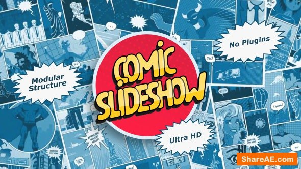 Videohive Comic Slideshow 21458557