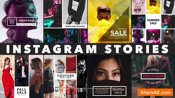 Videohive Instagram Stories 21837959