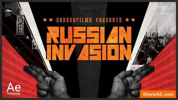 Videohive Russian Invasion