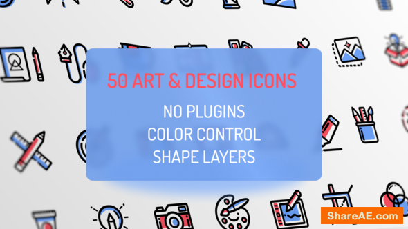 Videohive Design and Art Icons