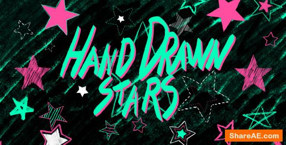 Videohive Hand Drawn Stars