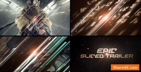 Videohive Epic Sliced Trailer