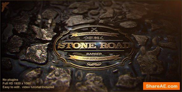 Videohive Stone Road Logo