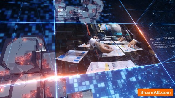 Videohive World News - Complete Broadcast Package