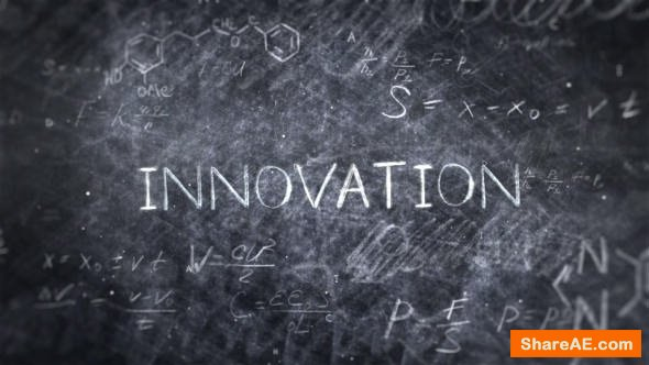Videohive Science Title