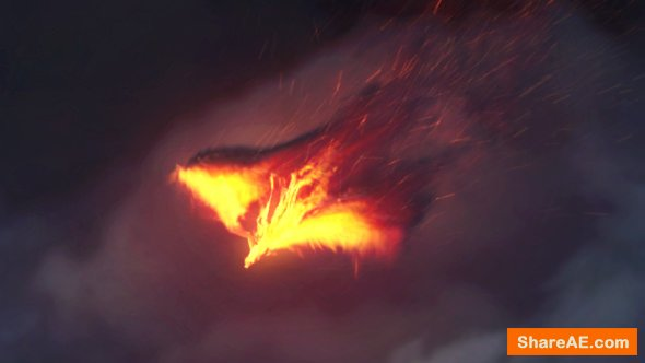Videohive The Pheonix | Fire Reveal