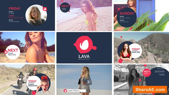 Videohive Lava Broadcast Package