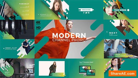 Videohive Modern Channel Promo v2