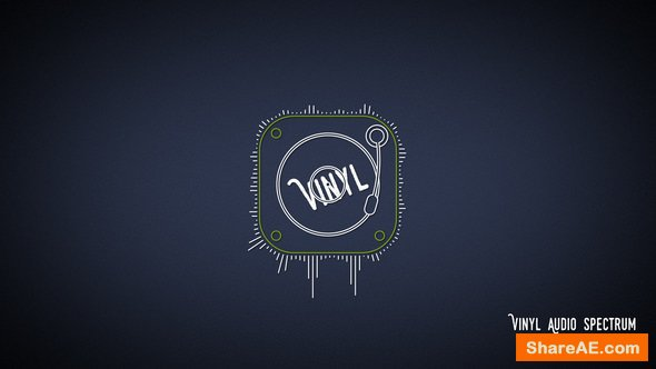 Videohive Vinyl Audio Spectrum