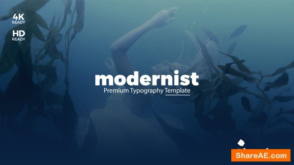 Videohive Modernist Premium Typography
