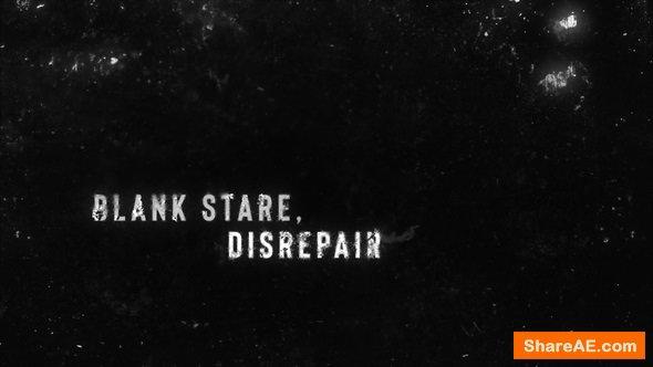 Videohive Dark Grunge Titles
