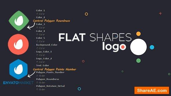 Videohive Flat Shapes Logo
