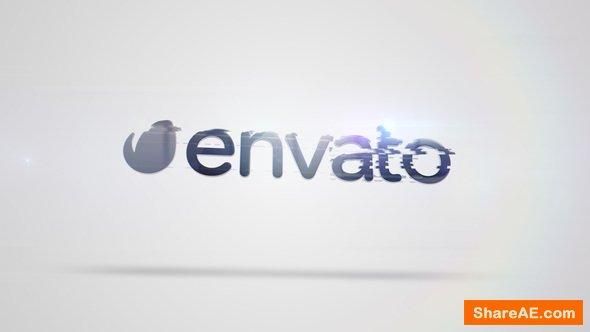 Videohive Quick Clean Glitch Logo