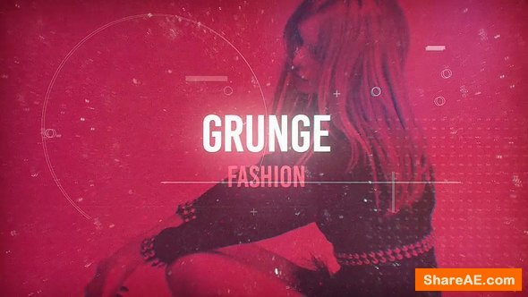 Videohive Grunge Fashion