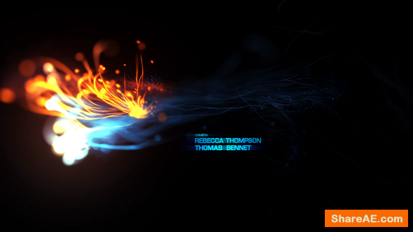 Videohive Fire Opening Titles