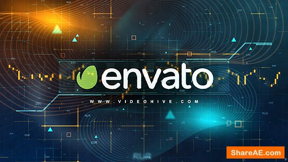 Videohive Digital Finance Intro