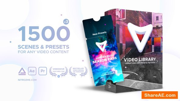 Videohive Video Library - Video Presets Package v3.0