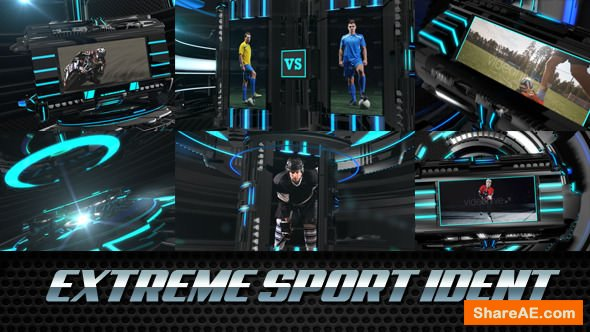Videohive Extreme Sport Ident - Broadcast Package