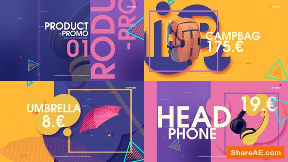 Videohive Product Promo 22175344