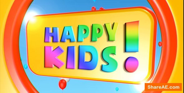 Videohive Kids Film Intro V2
