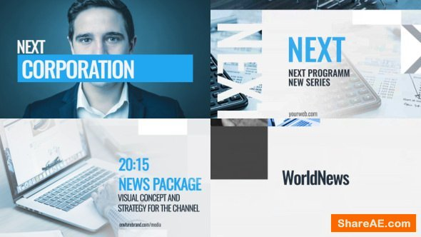 Videohive News Broadcast Pack