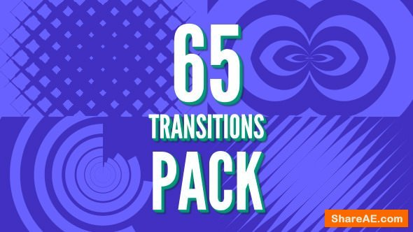 Videohive 65 Transitions Pack