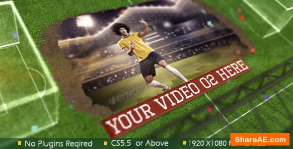 Videohive Road to Football