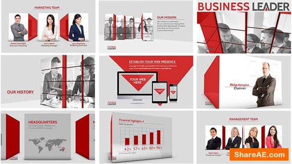 Videohive Business Leader