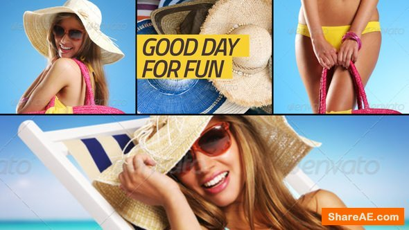 Videohive Slideshow clean colors