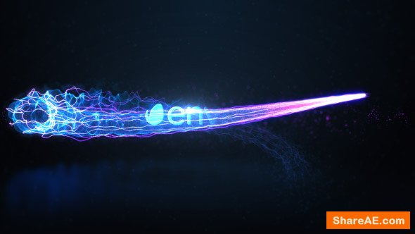 Videohive Particle Stream Reveal