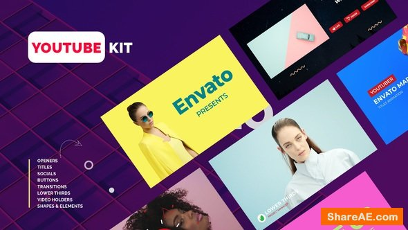 Videohive Youtube Kit