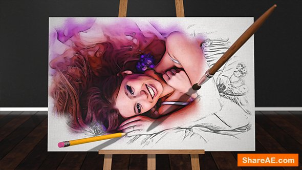 Videohive Sketch and Paint