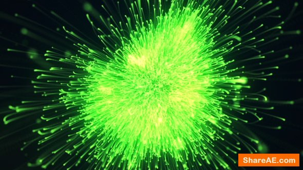 Videohive Particle Burst Logo