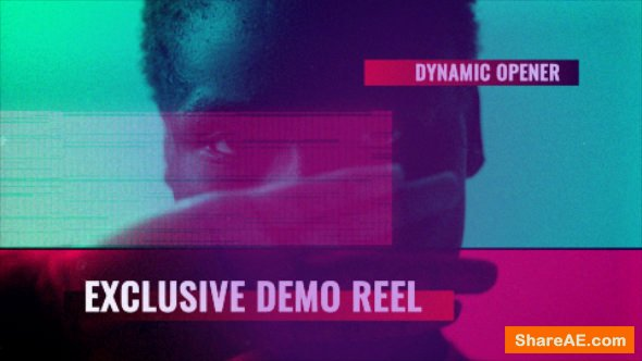 Videohive Glitch Demo Reel