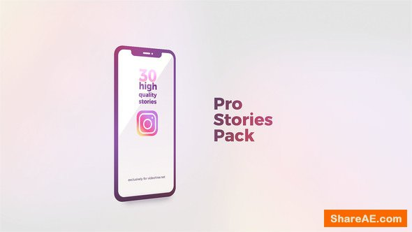 Videohive Instagram Stories Pro