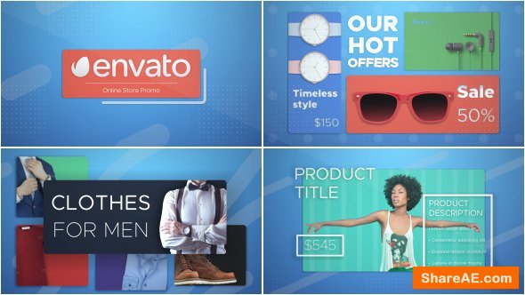 Videohive Online Shop Promo 17958763