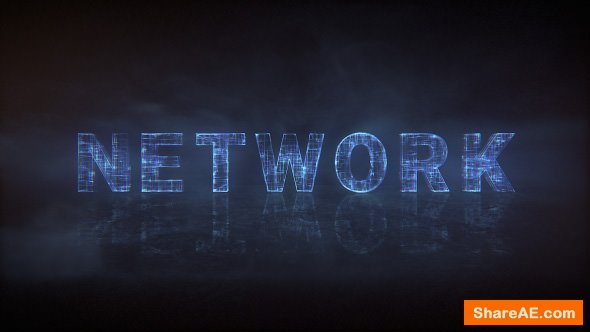 Videohive Network Type - Animated Typeface