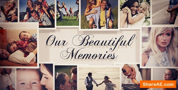 Videohive Photo Gallery - Our Beautiful Memories
