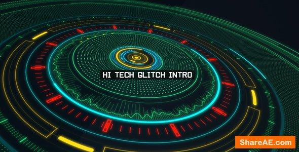 Videohive Hi Tech Glitch Intro