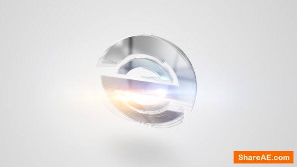 Videohive Quick Clean Bling Logo 2